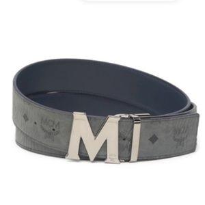 NWT - MCM Visetos Reversible Buckle Belt